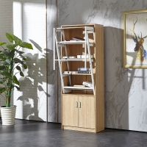 China Metal Conversion Shelf E1 MDF Melamine Board Wooden Folding Dining Tables on sale