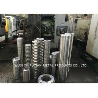 China Welded PN16 / 10 Flange Stainless Steel Pipe Fittings ASTM A182 WN / SO / BL / SW on sale