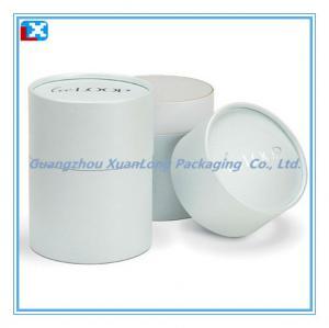 China Round Cardboard Tube Gift Box on sale