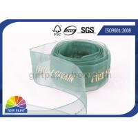 Quality Sheer Packaging gift wrap Organza ribbon for Wedding Florist Corporate wholesale