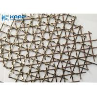 China Lock Crimped Wire Mesh Gabion , Wire Mesh Rock Retaining Wall Sturdy Construction on sale