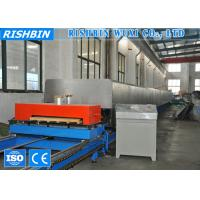 Quality Galvanized Sheet Color Steel PU Sandwich Panel Production Line for Mobile House wholesale