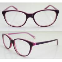 Quality Youth Girls Acetate Optical Hipster Glasses Frames By Handmade wholesale
