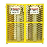 Quality Metal Compressed Gas Cylinder Storage Cabinets Standard Size Easy Construction wholesale