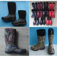 Quality Various Man Camo Rubber Boot, Hunting Boot, Neoprene Rubber Boots wholesale