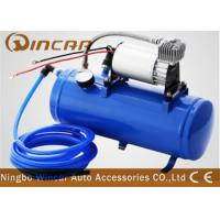 Quality DC 12v Portable Car Tire Pump 6L Tank Metal Material 1*30mm Cylinder wholesale