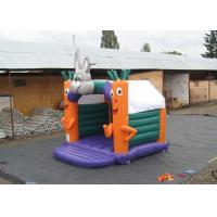 China Party Used Small Kids Inflatable Jumping Castle With Carrot And Rabbit 4X4M on sale