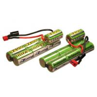 Quality 8.4V 600mAh Airsoft Gun NIMH Battery Packs , Wires And Terminals wholesale