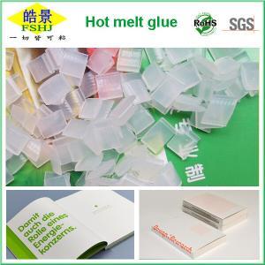 Quality White Polypropylene Hot Melt Adhesive Pellets For Textbooks Binding , Non Toxic wholesale