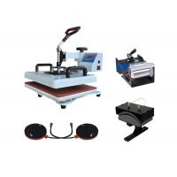 Quality 8 in 1 Combo T-shirt Sublimation Printing Machine Heat Press Transfer Baseball Hat Pressing Printer wholesale