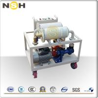 China Demulsification Dehydration Lube Oil Purifier / Lube Oil Filtration System on sale