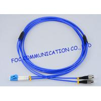 Quality Armored Fiber Optic Patch Cord Assemblies LC - FC G.657A Bending Resistance wholesale