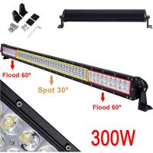 Quality LED Light Bar 300W Led Fog Driving Lights Flood Spot Combo Work Light Bar for Off-road Vehicle, ATV, SUV, UTV, Jeep, Boa wholesale