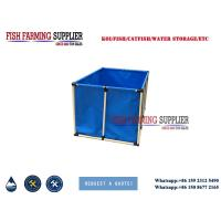 China PVC Collapsible Water Pond for Indoor FIsh Breeding