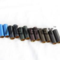 Quality Colorful Carbon Fiber Tube surface matt or glossy finish wholesale