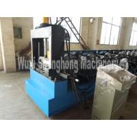 Quality High Auto Cable Tray Roll Forming Machine With Leveler And Lubricating Device wholesale