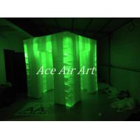 2.4 m x 2.4 m x 2.4 m ace air art inflatable wedding photo booth /inflatable led