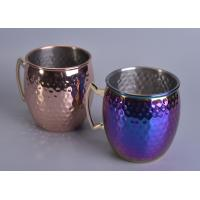 Quality Home Decoration Stainless Steel candle holder metal Eco - friendly wholesale