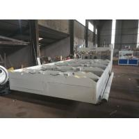 Quality Twin Screw PVC Pipe Extrusion Line Corrugated Pipe Machine 42KW Speed 20m / Min wholesale