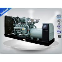 Quality Open Type Brushless AC Perkins Generator Set 9Kva ~ 2250Kva 180 L Fuel Tank with Stamford alternator wholesale
