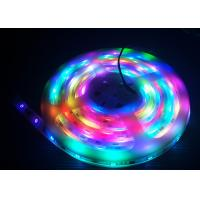 China Programmable RGB Flexible LED Strip SMD5050 0.336W Low Power Consumption on sale