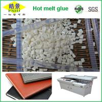 Quality SGS , ROSH , FDA Certificated EVA Hot Melt Glue Adhesive With Milk Granule Appearence wholesale