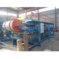 Quality Mineral Wool Roof Sandwich Panel Production Line 3-5 M / Min Carbon Steel Material wholesale