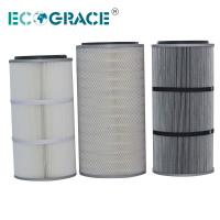Quality Performance Industrial Cyclone Dust Collector Filter Cartridge / Silo Vent Filter wholesale