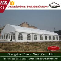 Quality Wedding / Event Marquee Curved Trade Show Tent 20 * 30m Hot - Dip Galvanized Steel wholesale