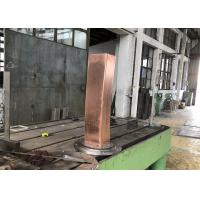 China 120mmx120mm square billet TP2 material Cr coating mould copper tube for sale