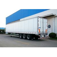 Quality Truck Refrigerated Tractor Trailer Reefer Custom Cargo Trailers High Wall Thickness wholesale
