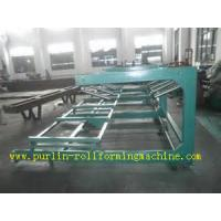 Quality Colored Metal Surface Sandwich Panel Automatic Stacking Machine 0.4mm - 0.8mm wholesale