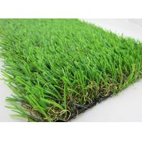 Quality Leisure Outdoor Artificial Grass Carpet  , 45MM Height Shape Yarn wholesale