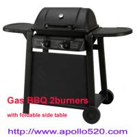 Quality Powder Coated Portable Grill 2 burner wholesale