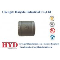 coupling black malleable iron pipe fitting cast iron UL factory