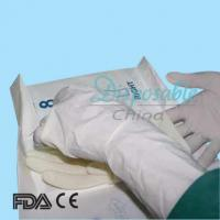 China Disposable hot sell AQL1.5 latex surgical gloves malaysia on sale