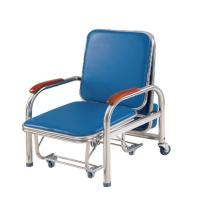 Quality Stainless Steel Bedside Medical Infusion Chairs Attendant Accompany Folding OEM wholesale
