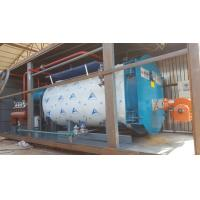China 10Ton Gas Fired Boiler Efficiency Wet Back Structure  Industrial Boiler Use In Milk Factory on sale