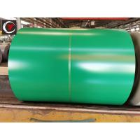 China DX51D Prime Prepainted Hot Dipped Galvanized Steel Sheet Coil 0.15~2.0mm Thickness on sale