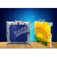 Quality High Resolution 1r1g1b Inside Led Screen Lightweight Aluminum Cabinet wholesale