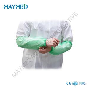 China Waterproof Handmade Arm PE Disposable Sleeve Covers on sale