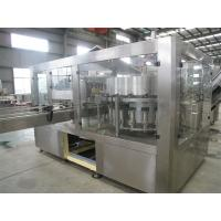 Cheap Adjustable Filling Volume Carbonated Drink Filling Machine With Washer / Filler / Capper for sale