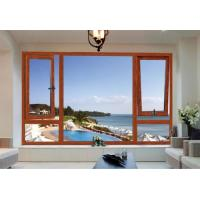 China Luxury Homes Wood Aluminium Windows Environment Protective Easy To Install on sale