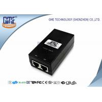 Quality 12v 800MA POE Power Adapter Black Ethernet Power Adaptor 47Hz - 63Hz wholesale