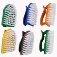Quality Durable Daily Clothes Brushes with Innovative Handles, Measures 10 x 5.5cm, Made of Nylon/Plastic wholesale
