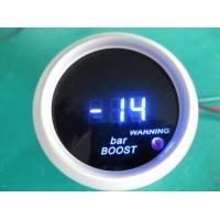 Quality Blue Red Light Universal Auto Gauges , Turbo Digital Gauges For Cars wholesale