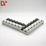 Quality Sliding Roller Track Conveyor / Gravity Roller Track For Industrial Storage wholesale