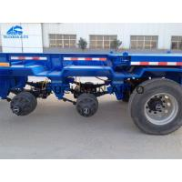 China Customized  Tractor Trailer Container , 40ft Skeleton Trailer With Safty Brake System on sale