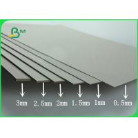 Quality Strong Hardness Laminated Paper Board 700 - 1500gsm Greyboard / Chipboard In Sheet wholesale