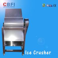 Quality CBFI Stainless Steel 304 Ice Crusher Machine For Bars / Fast Food Shops wholesale